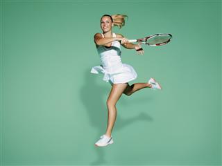 Caroline Wozniacki's Outfit for Wimbledon 2012