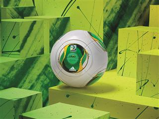 Three symbols of Brazilian Culture Combined by adidas for the Official Match Ball of the FIFA Confederation Cup 2013