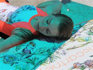 Feminine sensuality in the adidas by Stella McCartney Spring/Summer 13 swim collection