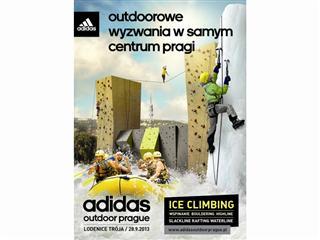 Ściana lodowa, wspinaczka, bouldering, highline i rafting – adidas zaprasza do Pragi na wyjątkowy outdoorowy event