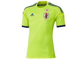サッカー日本代表 新オフィシャル アウェイ ユニフォーム