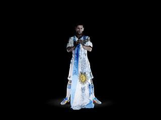 Messi flag