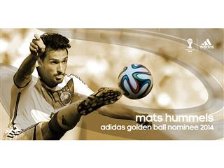 Brazuca Golden Awards Nominee Hummels
