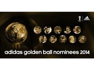 Nominalizările pentru balonul de aur sunt dezvăluite pentru Cupa Mondială 2014 din Brazilia