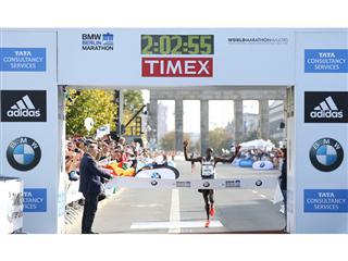 adidas' Dennis Kimetto Uses the Energy Return of BOOST™ to Run the Fastest Marathon of All-Time