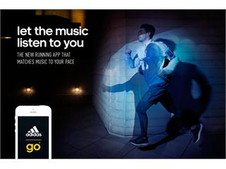 Neue Running App: adidas Go verleiht jedem Lauf einen einzigartigen Beat 2