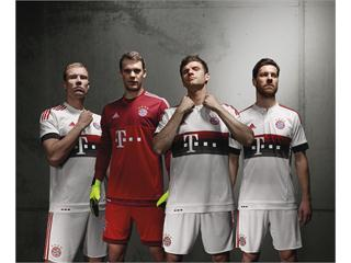 FC Bayern new away kit designed in modern streetwear style