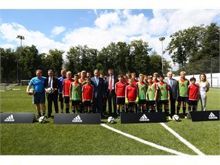 Министерство спорта Российской Федерации, adidas, Российский футбольный союз и Немецкий футбольный союз (DFB) объявили о подписании четырехстороннего меморандума