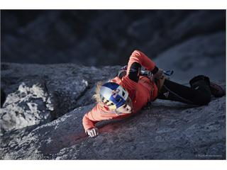 Sasha DiGiulian secures the first female ascent of the difficult alpine route (7c+)