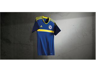 adidas introduces the new kit of the Bosnia and Herzegovina Football Federation