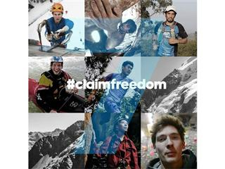 adidas Outdoor Announces #claimfreedom Winners