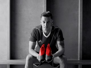 adidas Releases Mesut Ozil Film to Support Red Limit Collection Launch