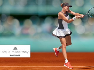 adidas by Stella McCartney Unveils Roland Garros outfits for Muguruza and Wozniacki