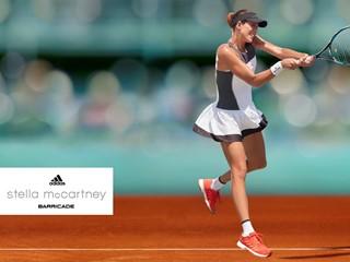 adidas by Stella McCartney Unveils Roland Garros outfits for Muguruza and Wozniacki