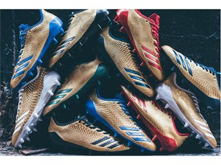 """adidas Football Introduces the 2017 adizero 5-Star 6.0 """"Gold Pack"""""""