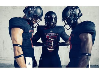 "Rutgers University and adidas Unveil New ""Stadium Lights"" Alternate Uniforms"