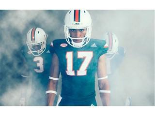 "The University of Miami & adidas Unveil ""State of Miami"" and ""Miami Nights"" Alternate Football Uniforms"