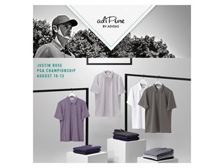 adidas Golf announces adiPure apparel for Justin Rose at the PGA Championship