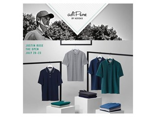 adidas Reveals adiPure Apparel for Justin Rose at The Open Championship