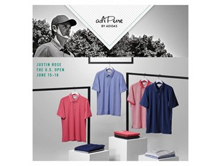 adidas Golf Highlights adiPure Collection For Justin Rose at the U.S. Open