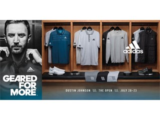 adidas Golf Prepares DJ and Sergio for The Open Championship