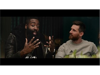 adidas Sport 17 'Calling All Creators' Campaign Film still - James Harden & Lionel Messi