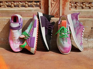 adidas Originals ve Pharrell Williams Holi Festivalinin Öyküsünü adicolor Tasarımlarına Taşıyor