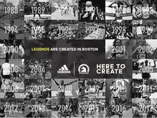 ADIDAS INTRODUCES 'HERE TO CREATE LEGEND' 2018 BOSTON MARATHON® CAMPAIGN  FEATURING 30K PERSONAL HIGHLIGHT VIDEOS DELIVERED TO 30K RUNNERS WITHIN HOURS