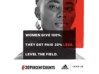 adidas Partners with LeanIn.Org on Equal Pay Day
