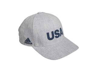 USA GOLF Collection Heather Printed Crestable Hat