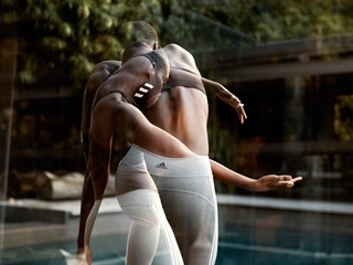 adidas Womens reveals the August 2018 Bras & Tights Mailer with Isa Welly: Stretch Imagination and Muscles with mindful Pilates