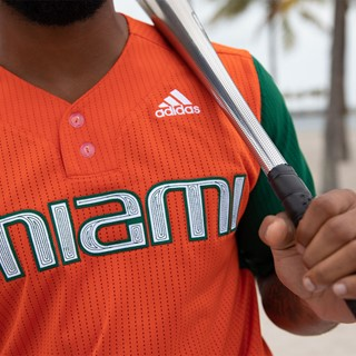 The University Of Miami And Adidas Unveil First Ever Baseball Jerseys Made From Parley Ocean Plastic