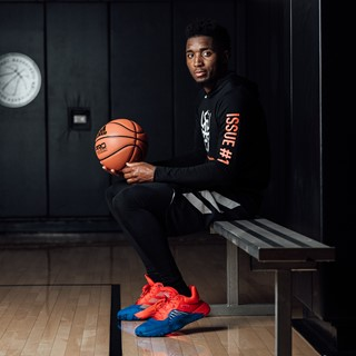 63999be1a adidas X Marvel Launch Donovan Mitchell's First Signature Shoe