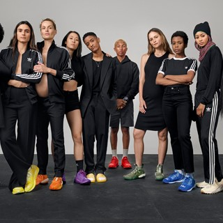 adidas originals by Pharrell Williams announce now is her