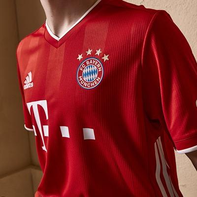 launching new FC Bayern Munich 2020/21 home jersey – a classic ...