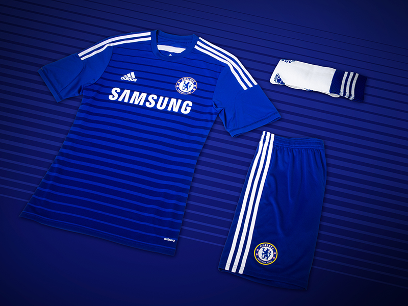 official photos 992bd 37d75 thenewsmarket.com : adidas and Chelsea Football Club launch ...