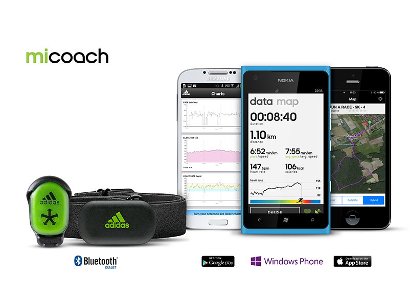 miCoach Apps 2