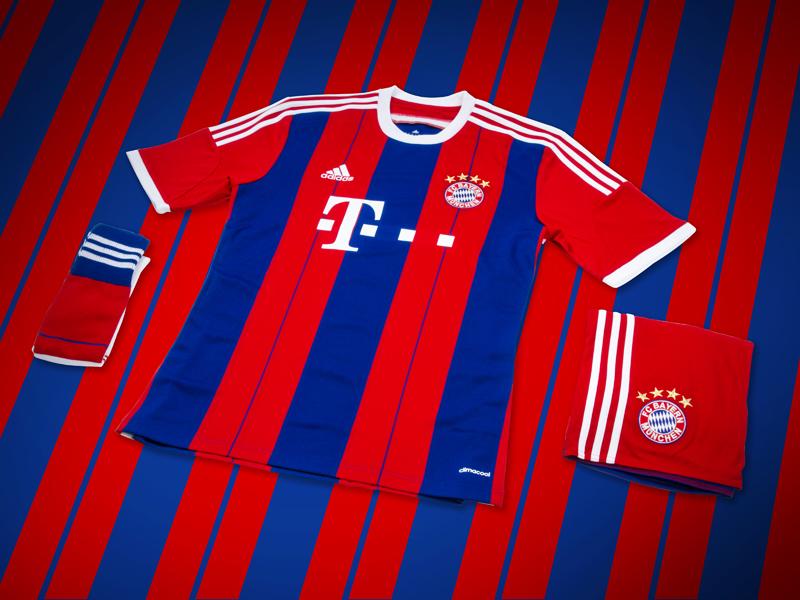 FC Bayern´s Home kit 7
