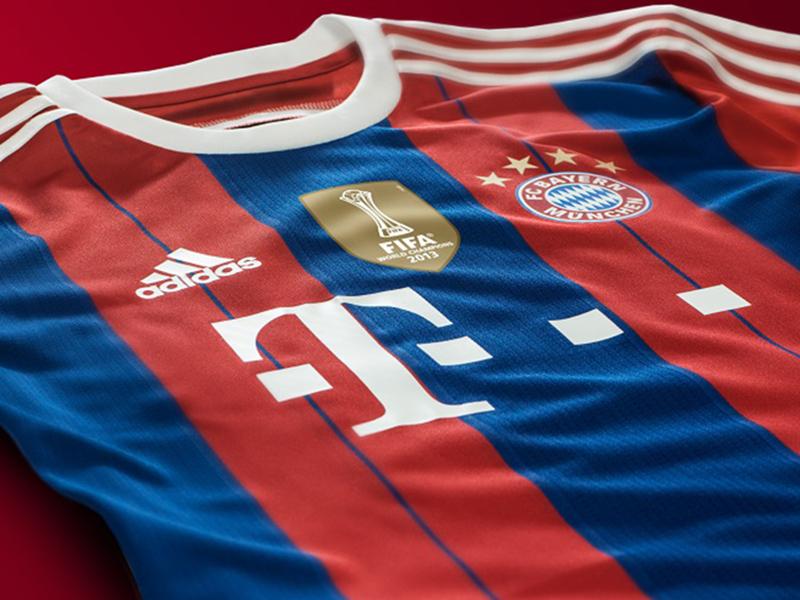 Echipament Bayern Munich pentru meciurile pe teren propriu