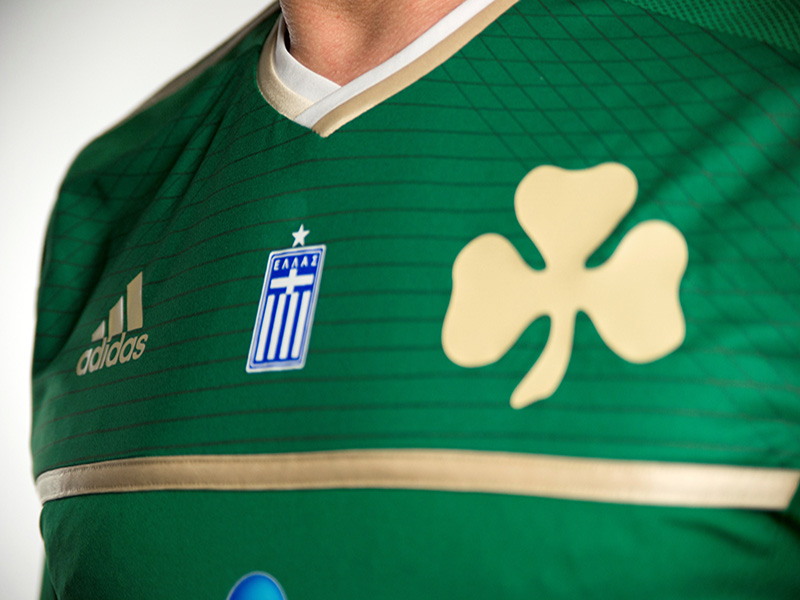 PAO FC Home Kit 2014-15 - Detail 2