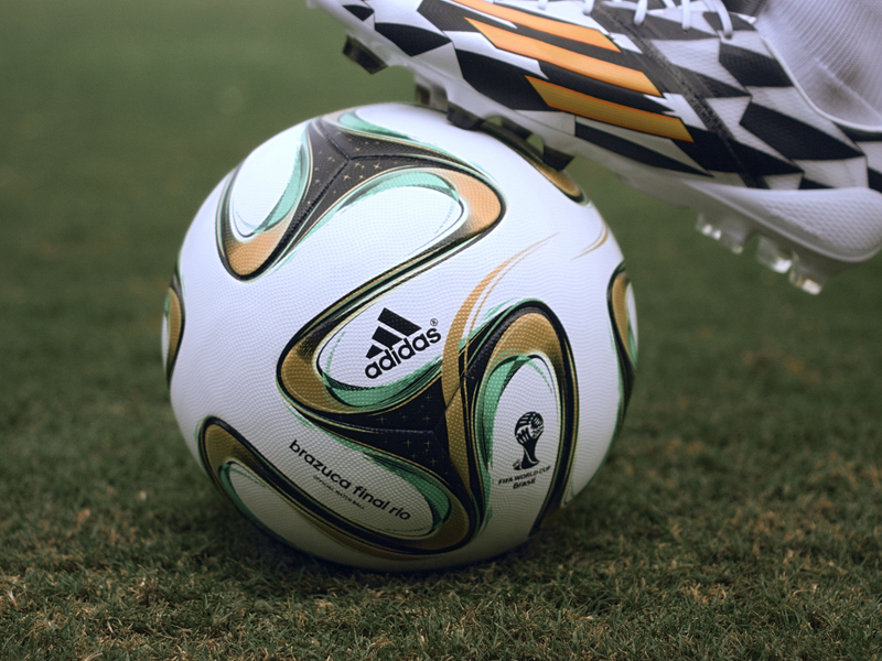 brazuca Around the World: Brazil -- adidas Football 1