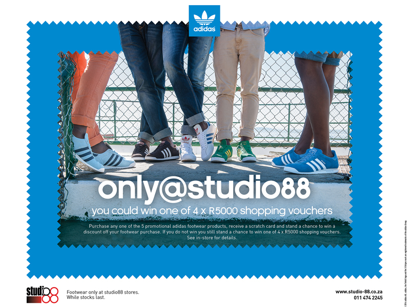 adidas Originals x Studio 88 'Only @' Promotion