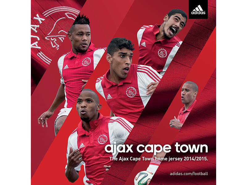 adidas Ajax Cape Town Home Kit Instagram