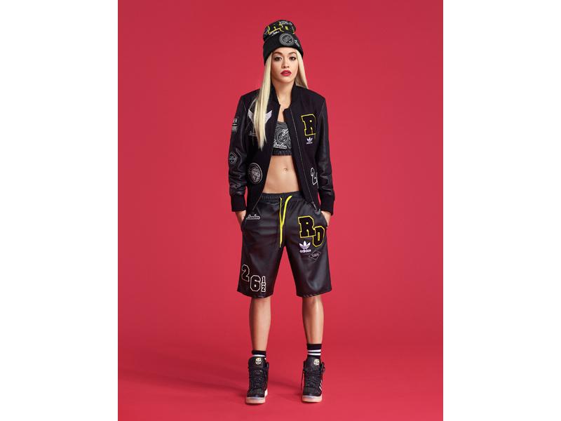 adidas Originals lansează colecția semnată de Rita Ora FW14:Black