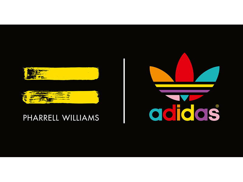 adidas Originals = PHARRELL WILLIAMS Logo BLK