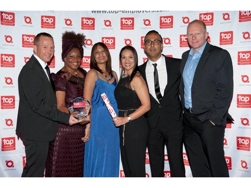 adidas South Africa receive Top Employer 2015 award