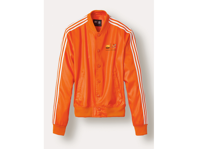 Pharrell Williams Satin Snap Trainingsjacke