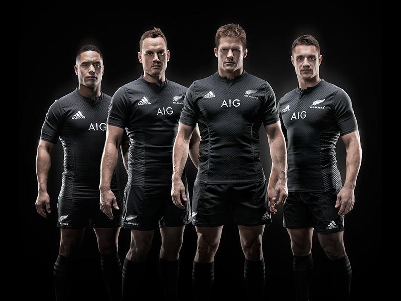 adidas 2015 All Blacks Jersey Group Shot