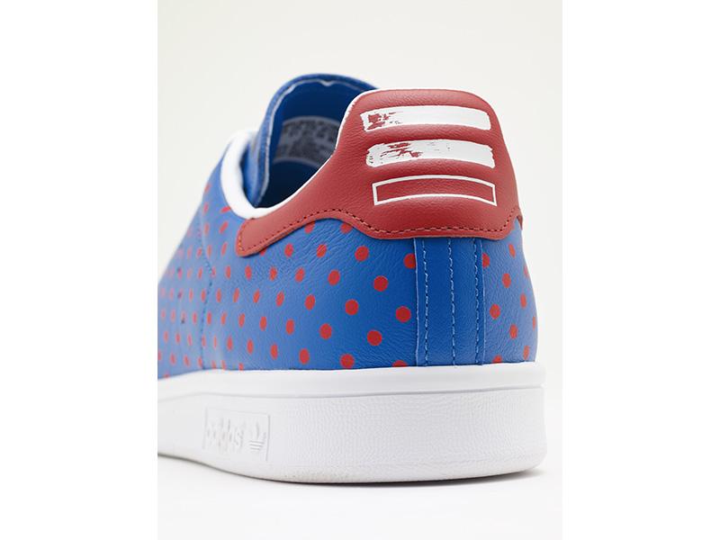 adidas Originals = Pharrell Williams Stan Smith Blue Detail