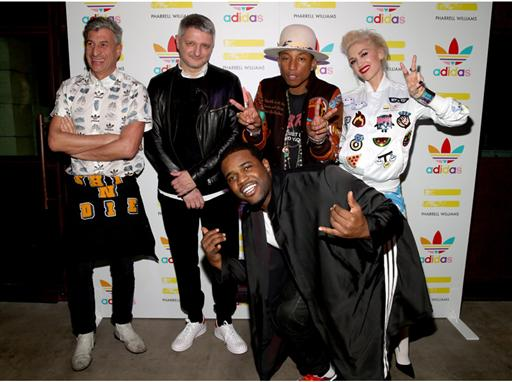 Pharrell Williams und adidas feiern ihre Kollaboration in LA 26